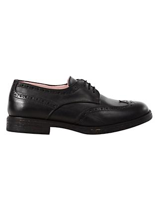Geox Lace-Up Brogue, Black