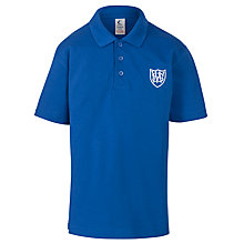 Buy Windrush Valley School Polo Shirt, Royal Blue Online at johnlewis.com