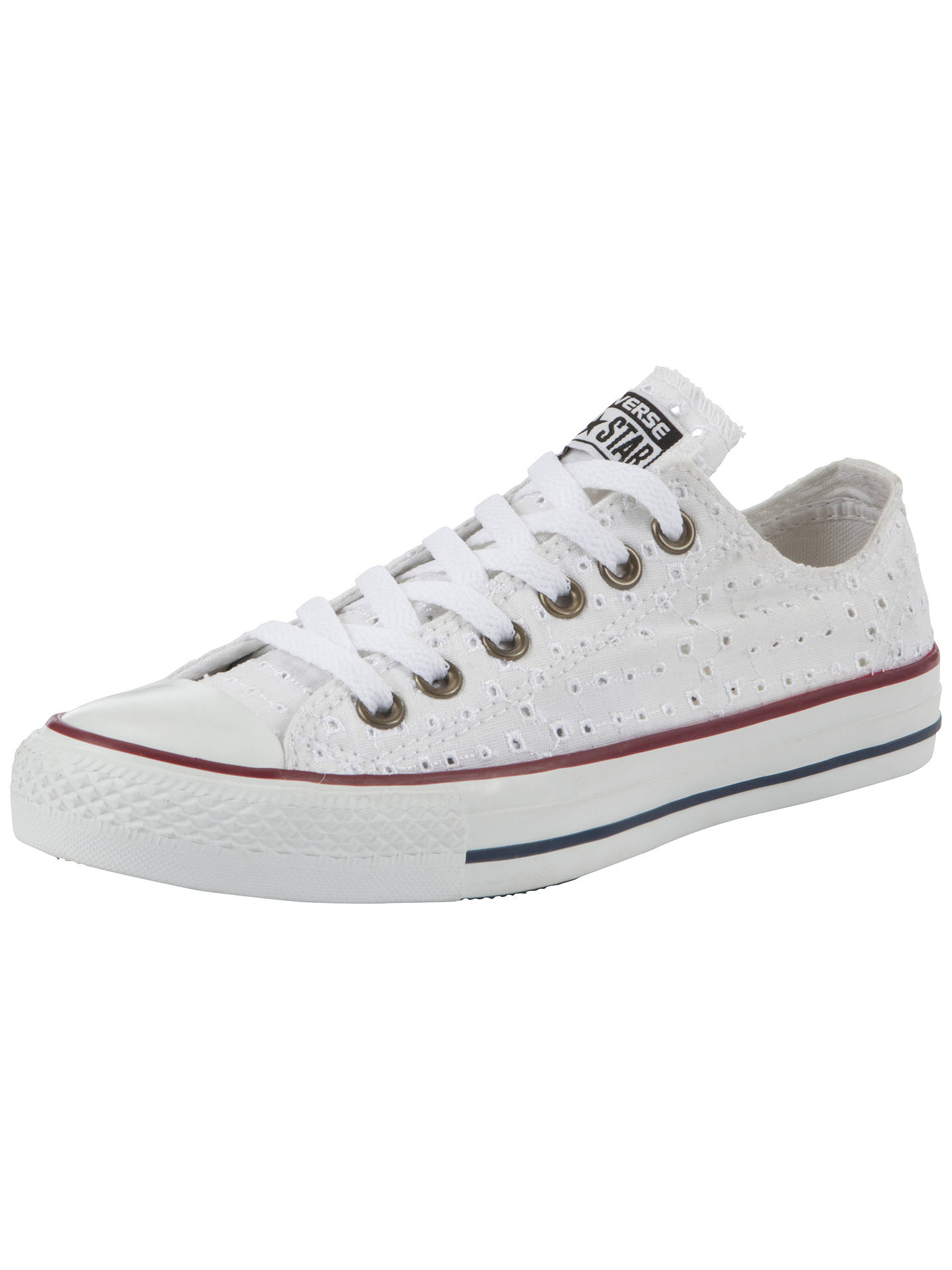 59f866bd55c BuyConverse Chuck Taylor All Star Cut-Out Canvas Low-Top Trainers, White,