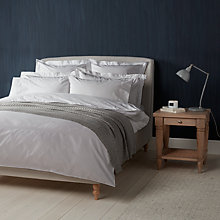 Buy John Lewis Croft Collection Skye Double Hemstitch Cotton Bedding Online at johnlewis.com