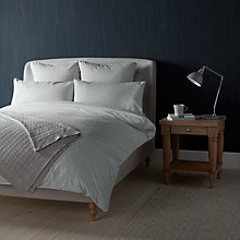 Buy John Lewis Croft Collection Bethany Duvet Covers and Pillowcases, Grey Online at johnlewis.com