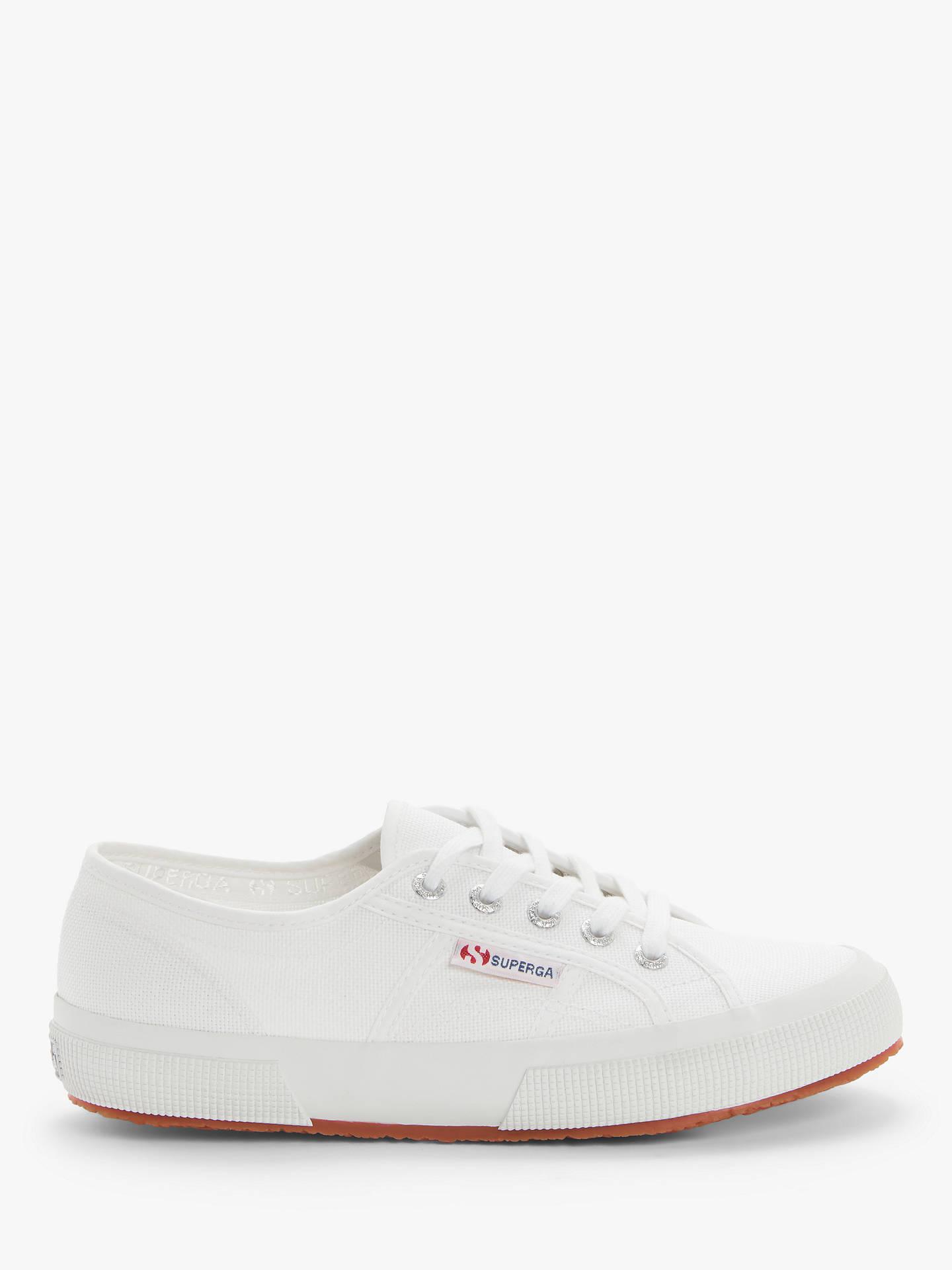 new style be189 f2720 Superga 2750 Cotu Classic Plimsolls, White