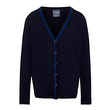 Buy Windrush Valley School Cardigan, Navy Blue Online at johnlewis.com