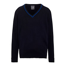 Buy Windrush Valley School Jumper, Navy Blue Online at johnlewis.com
