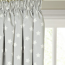 Buy little home at John Lewis Star Pencil Pleat Blackout Lined Children's Curtains Online at johnlewis.com
