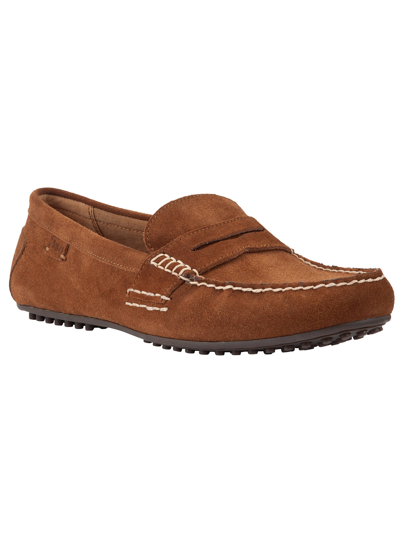 36bbc40bdde Polo Ralph Lauren Wes Suede Loafers at John Lewis   Partners