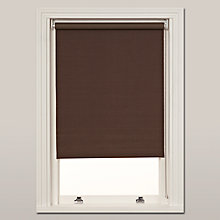 Buy John Lewis Hessian Blackout Roller Blind, Mocha Online at johnlewis.com