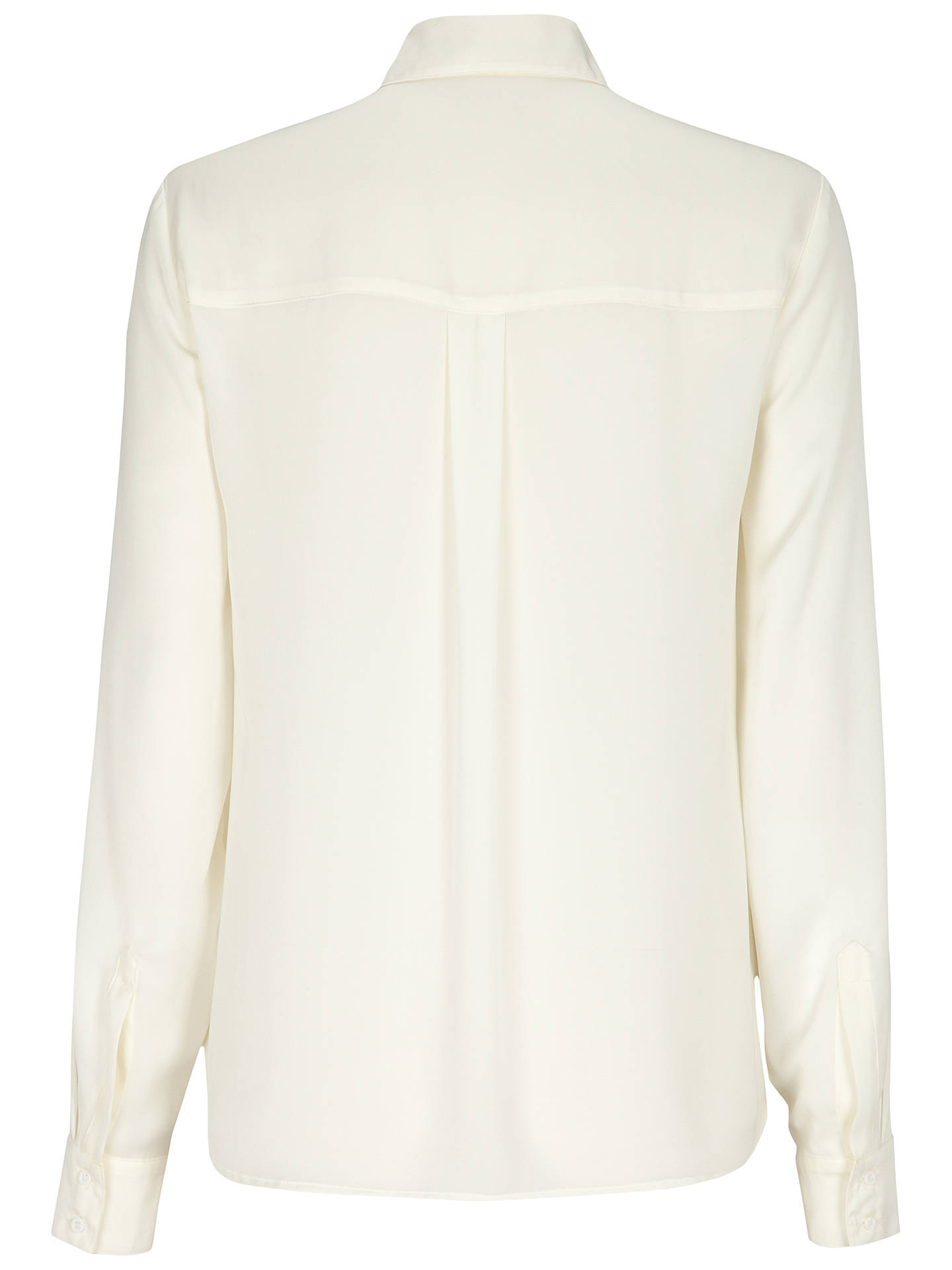 Buy Oui Contrast Trim Shirt, White/Red, 12 Online at johnlewis.com