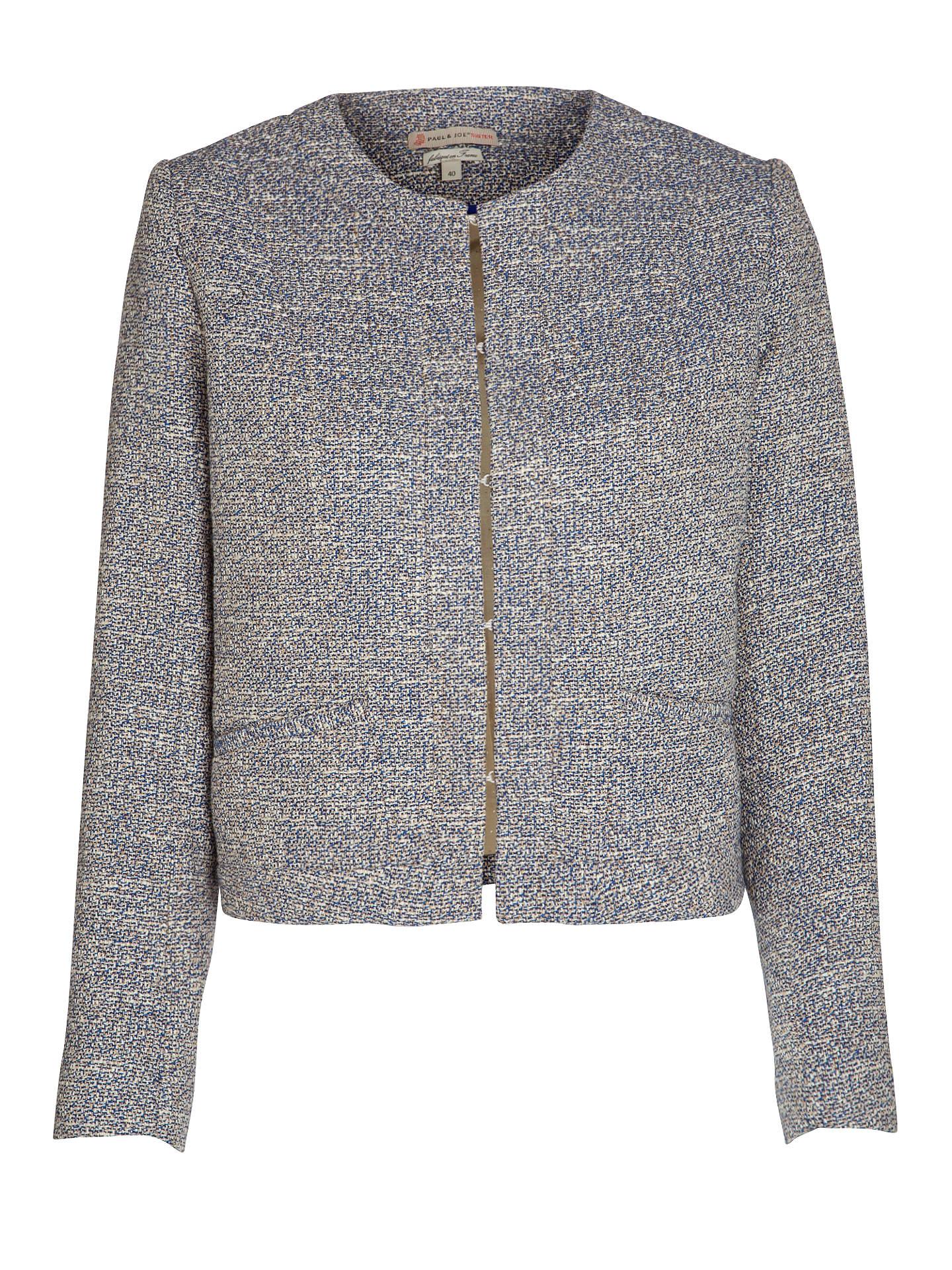 b9ab1c0c554e6 Buy Paul & Joe Sister Fairy Boucle Jacket, Blue, 14 Online at johnlewis.