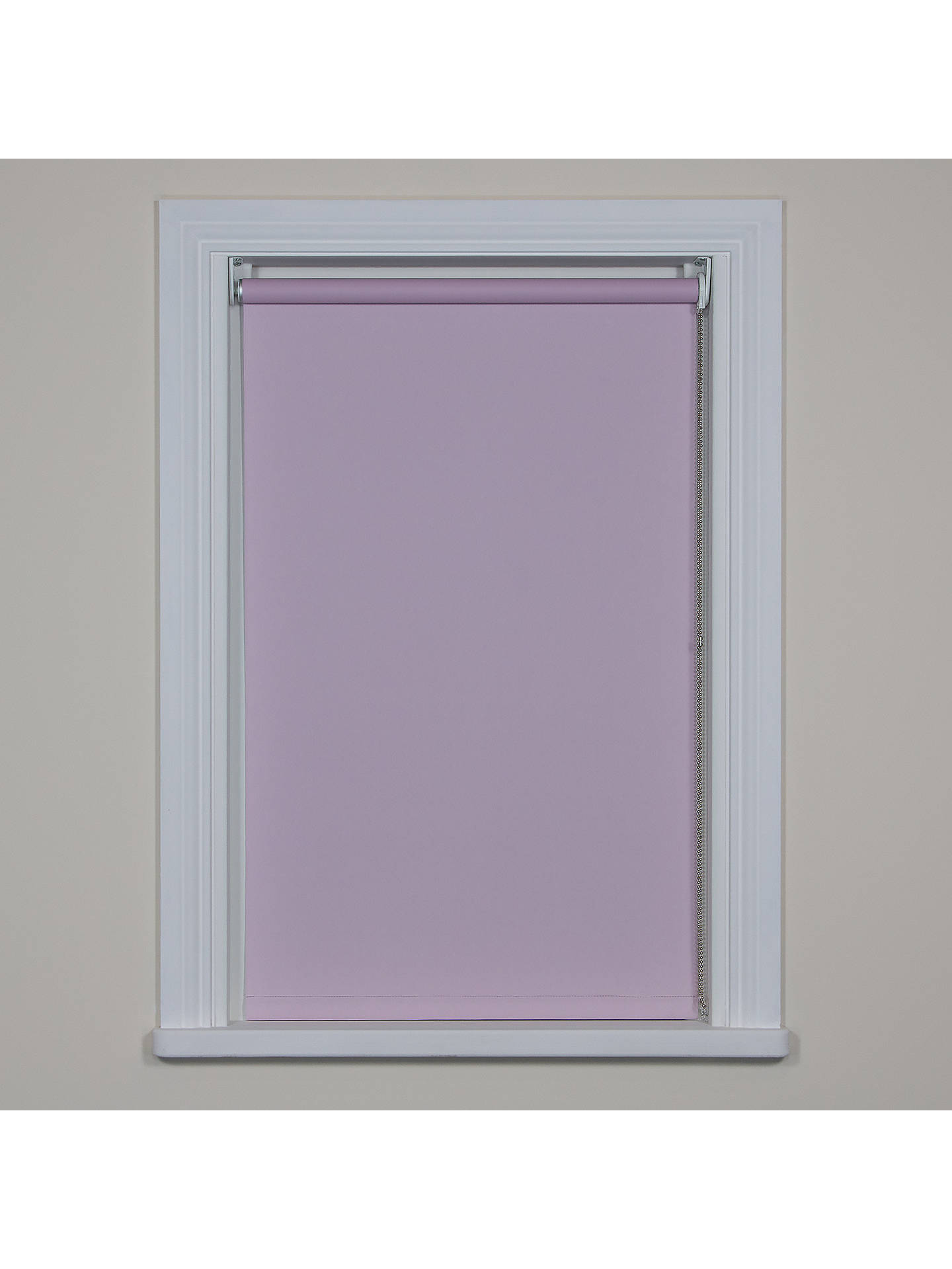 BuyBloc Fabric Changer Blackout Roller Blind, Sweet Rose, W61cm Online at johnlewis.com