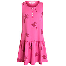 Buy John Lewis Girl Palm Tree Print Jersey Dress Online at johnlewis.com