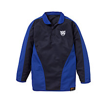 Buy Windrush Valley School Football Shirt, Navy/Royal Online at johnlewis.com