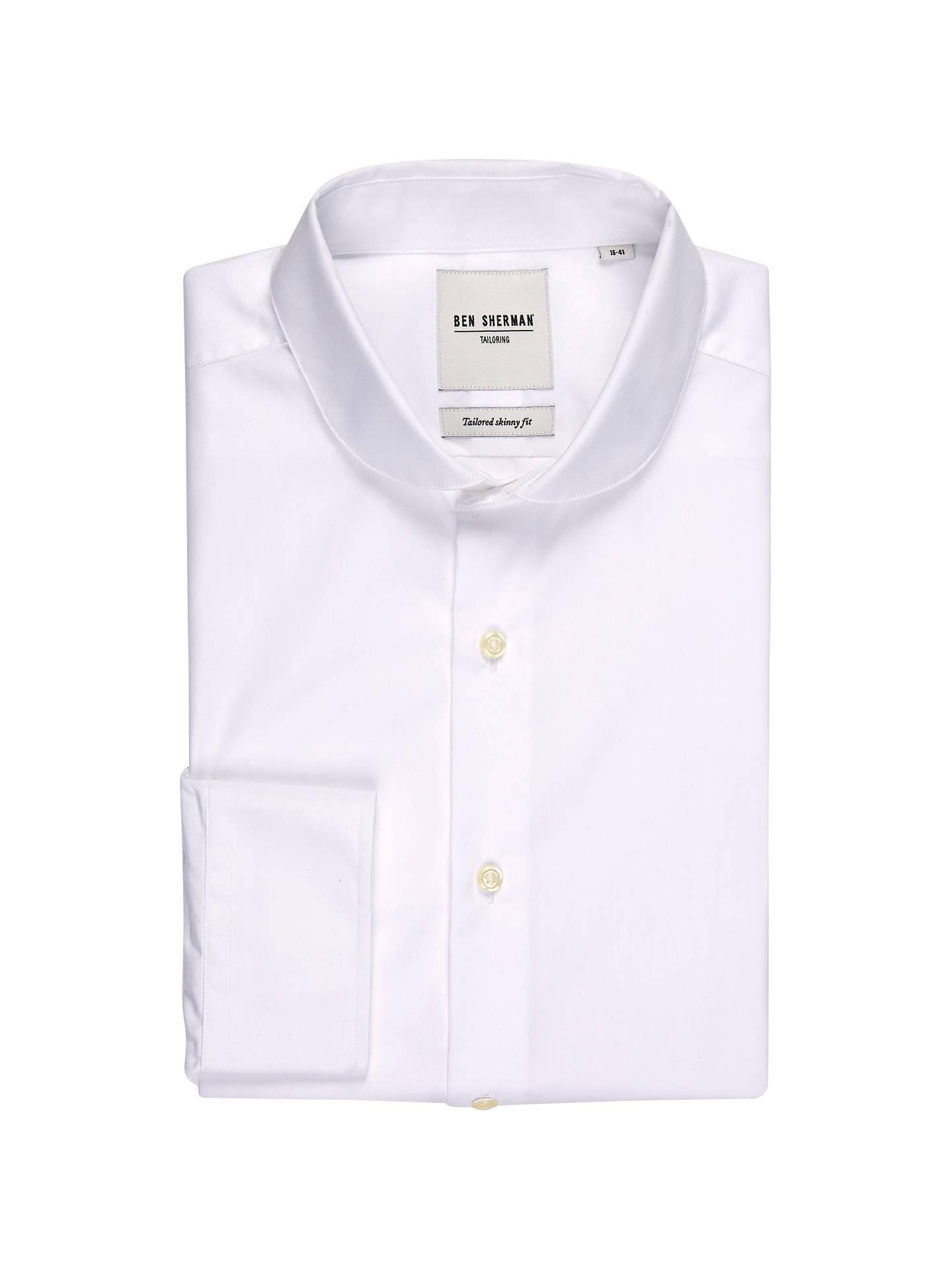BuyBen Sherman Tailoring Poplin Penny Collar Long Sleeve Shirt a6d202786