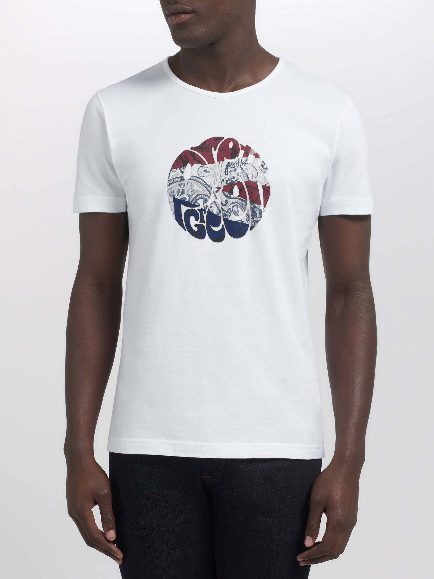 9f2e32fabbd ... Buy Pretty Green Paisley Union Jack Logo T-Shirt