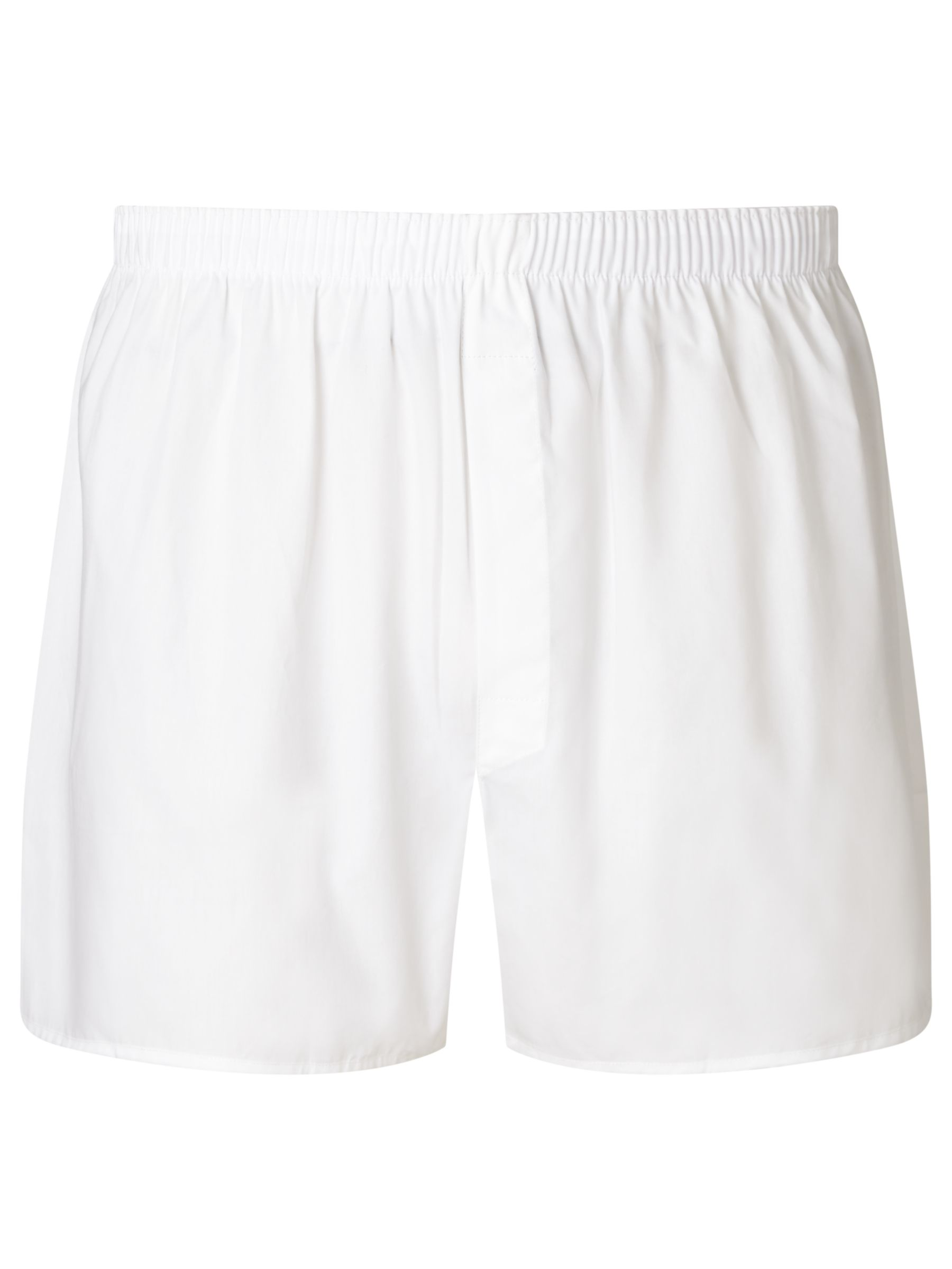Sunspel Sunspel Classic Cotton Boxer Shorts, White