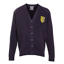 Buy Colston Bassett Preparatory School Cardigan, Navy Online at johnlewis.com