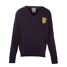 Buy Colston Bassett Preparatory School Jumper, Navy Online at johnlewis.com