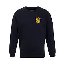 Buy Colston Bassett Preparatory School Sweatshirt, Navy Online at johnlewis.com