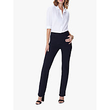 Buy NYDJ Sheri Slim Jeans, Black Overdye Online at johnlewis.com