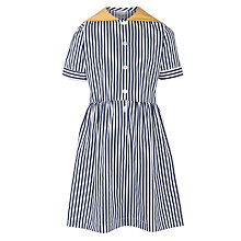 Buy School Girls' Summer Dress, Blue/Multi Online at johnlewis.com