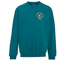 Buy Cambridge International School Sweatshirt, Jade Online at johnlewis.com