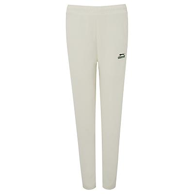 Slazenger Boys' Cricket Trousers, Ivory