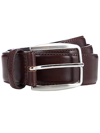 John Lewis & Partners Made in Italy Leather Belt
