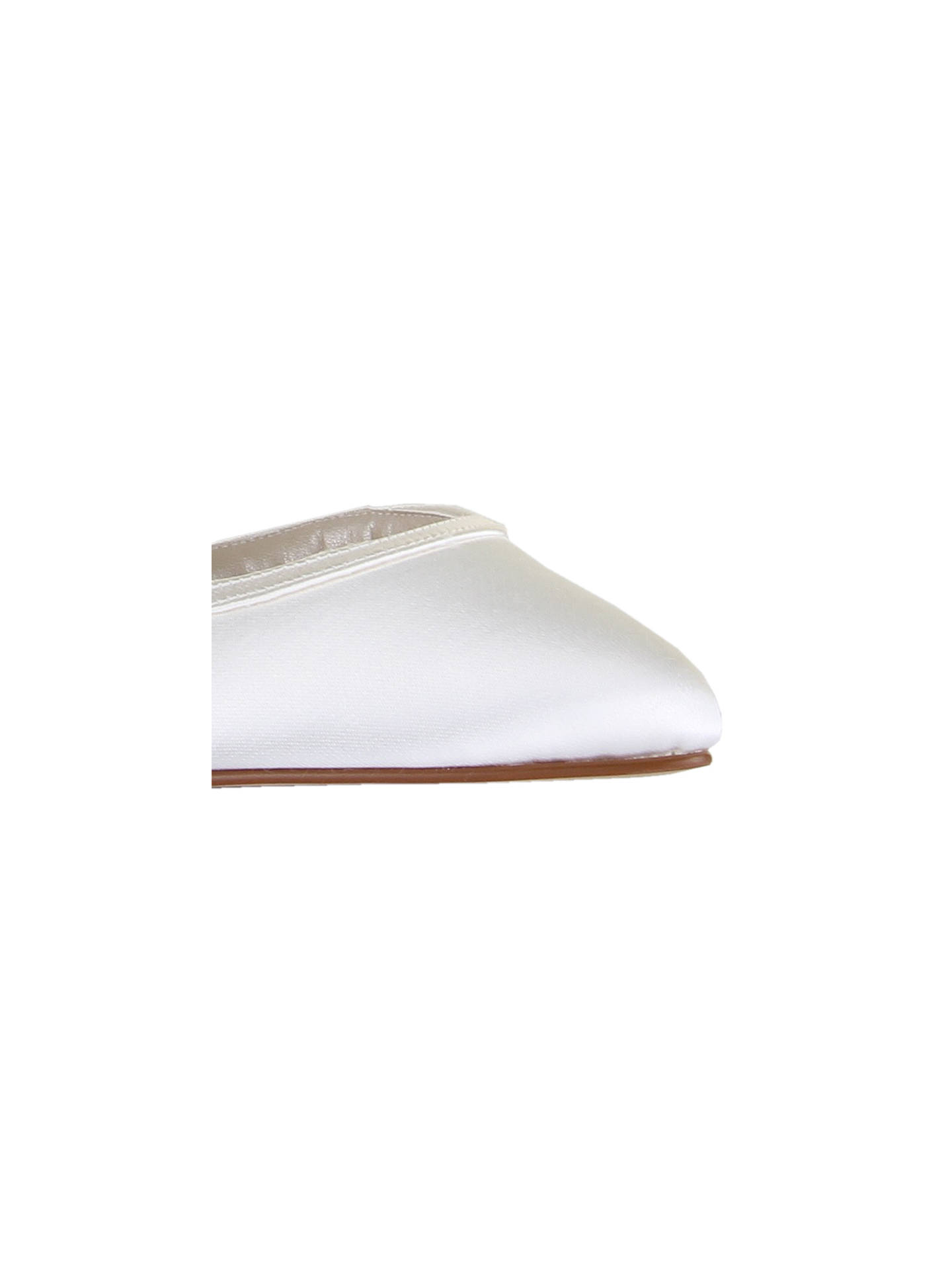 Buy Rainbow Club Abbie Slip-On Court Shoes, Ivory, 3 Online at johnlewis.com