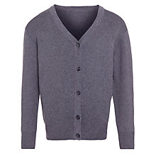 Buy John Lewis Unisex 100% Pure Cotton V-Neck School Cardigan Online at johnlewis.com