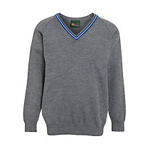 Buy Westville House School Jumper, Grey Online at johnlewis.com