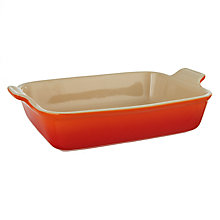 Buy Le Creuset Stoneware Deep Rectangular Oven Dish Online at johnlewis.com