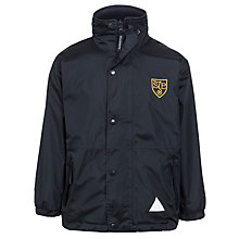 Buy St John's Priory School Coat, Navy Online at johnlewis.com