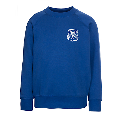 Product photo of Westville house school sweatshirt royal blue