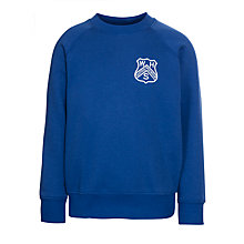Buy Westville House School Sweatshirt, Royal Blue Online at johnlewis.com