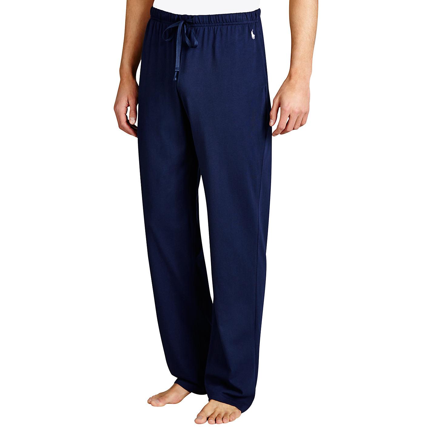 Buy Polo Ralph Lauren Basic Jersey Lounge Pants Navy John Lewis # Muebles Ralph Lauren Espana
