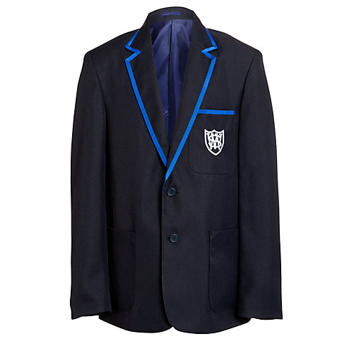 Buy Windrush Valley School Blazer, Navy/Royal Online at johnlewis.com