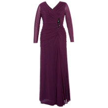 Buy Chesca Ruched Bodice Jewel Dress Online at johnlewis.com