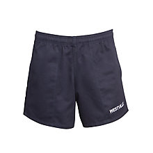 Buy Westville House School Games Shorts, Navy Online at johnlewis.com
