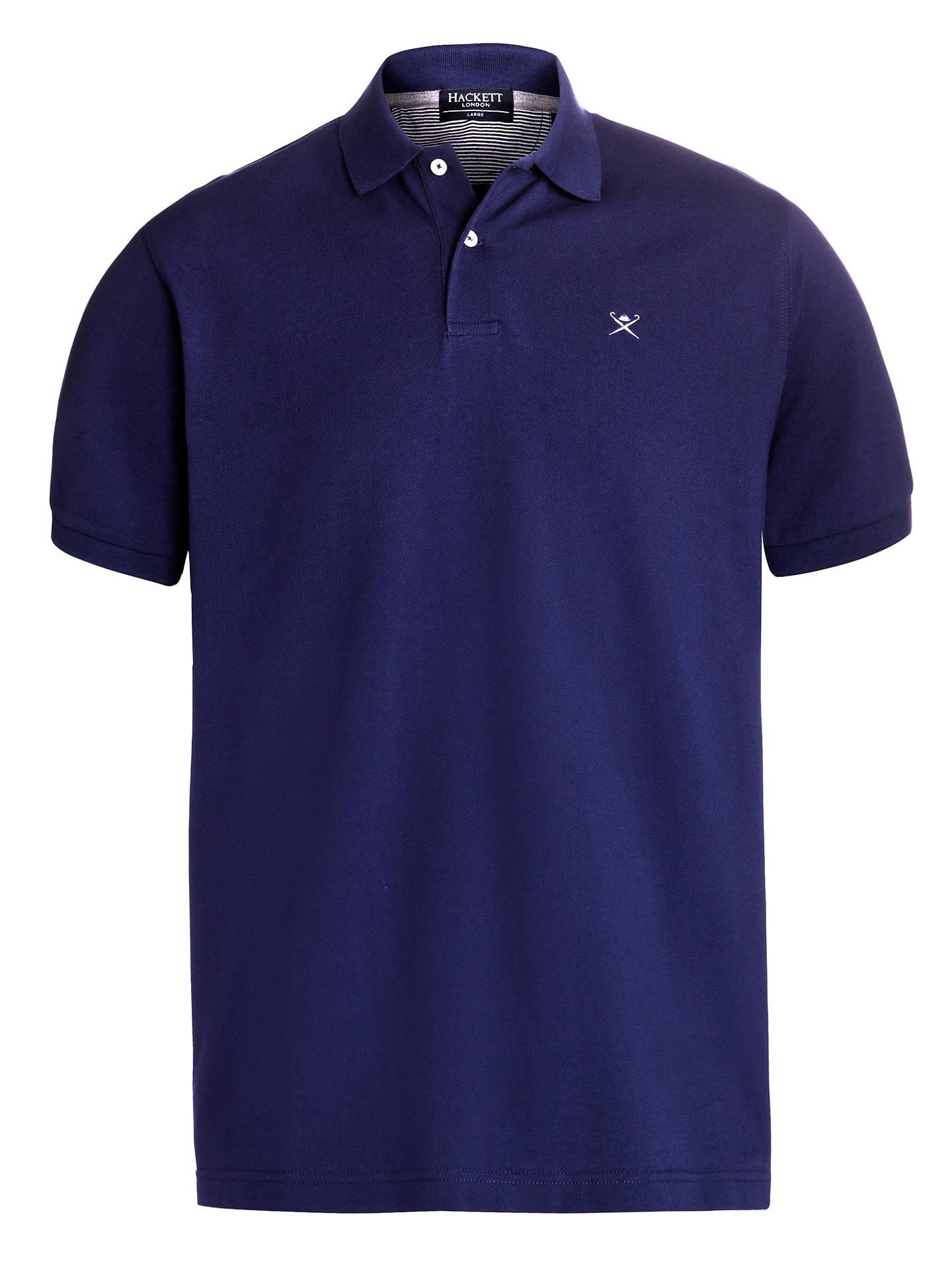 f015dda87833 Hackett London Short Sleeve Polo Shirt at John Lewis   Partners