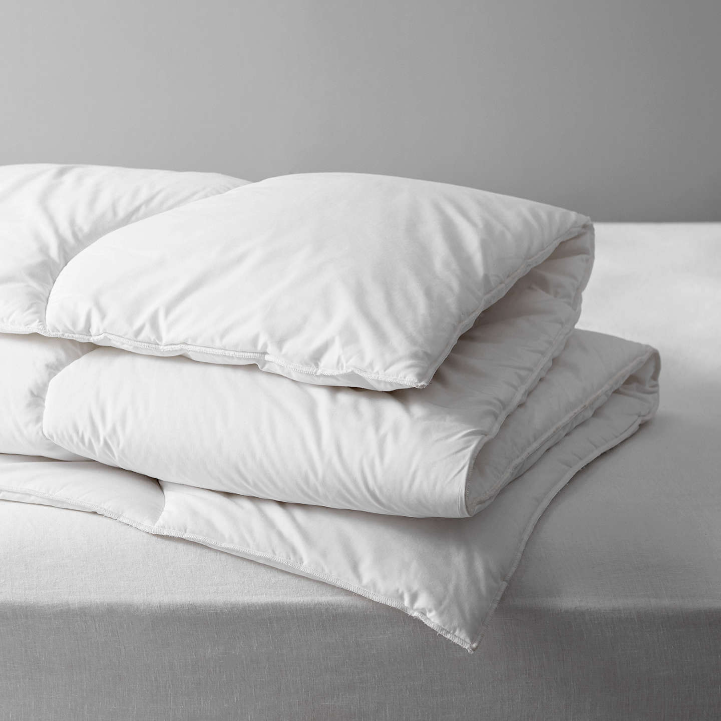 BuyJohn Lewis The Basics Microfibre Duvets, 13.5 Tog, Single Online at johnlewis.com