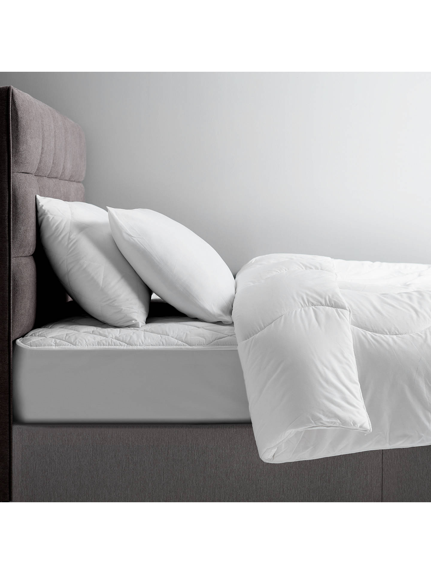 BuyJohn Lewis & Partners The Basics Microfibre Duvets, 13.5 Tog, Single Online at johnlewis.com