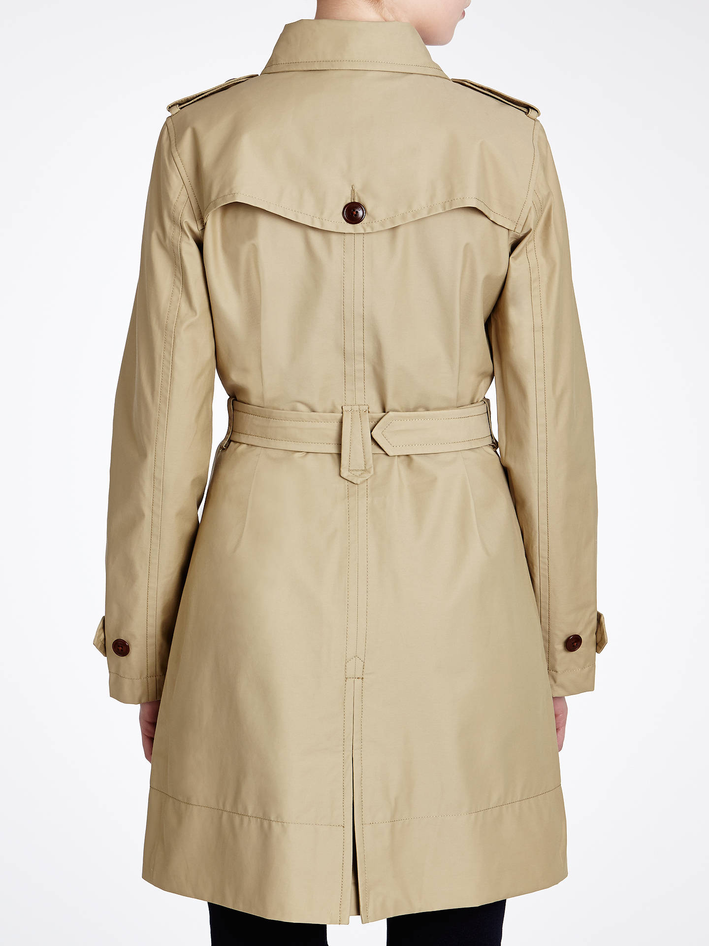 best sneakers 4d85d 8a6fc Aigle Waterproof Trench Coat at John Lewis & Partners