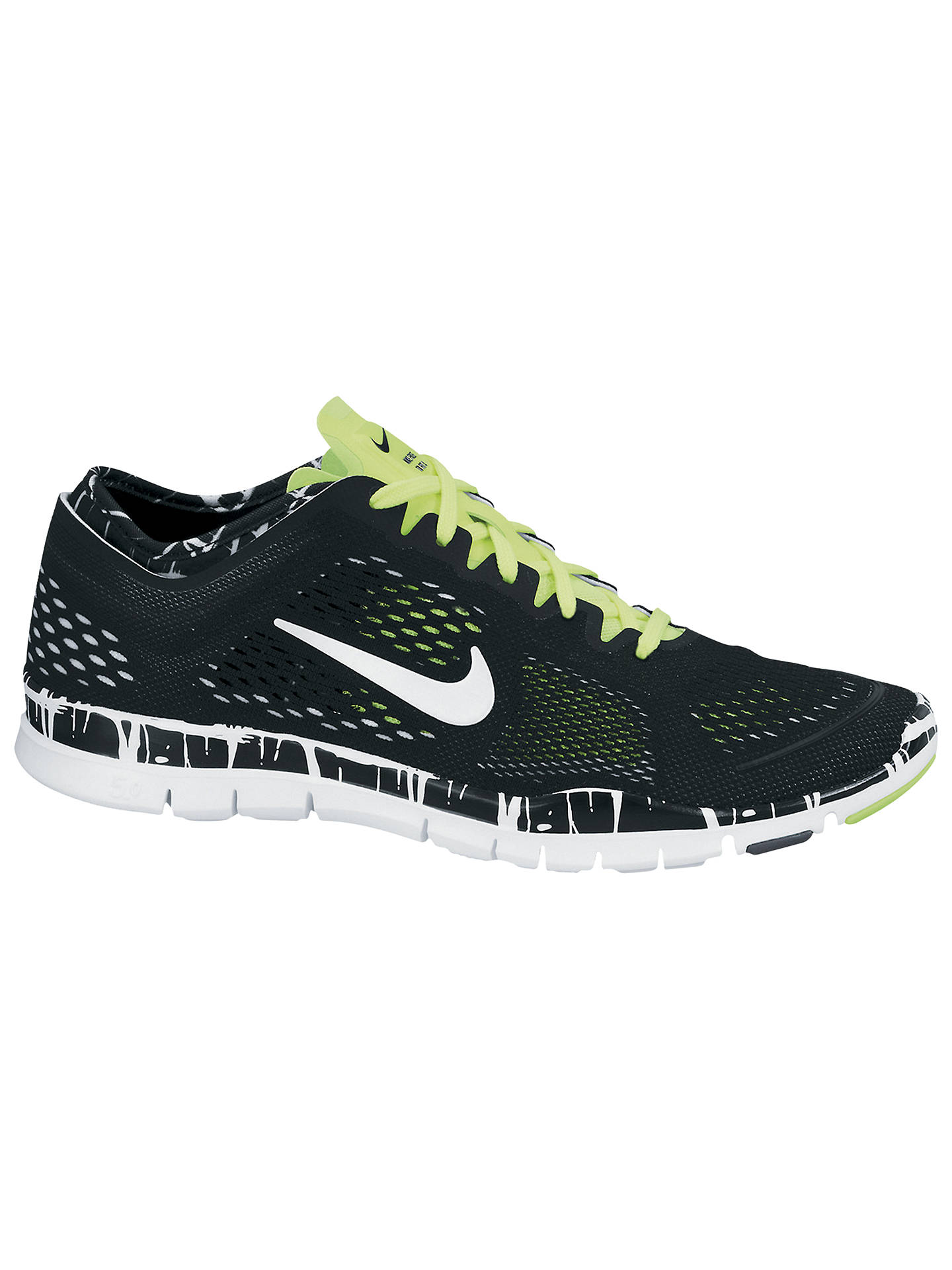 first rate 2410e 633bf Nike Women's Free 5.0 TR Fit 4 Cross Trainers, Black/White ...