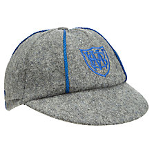 Buy Windrush Valley Boys' School Cap, Grey/Blue Online at johnlewis.com