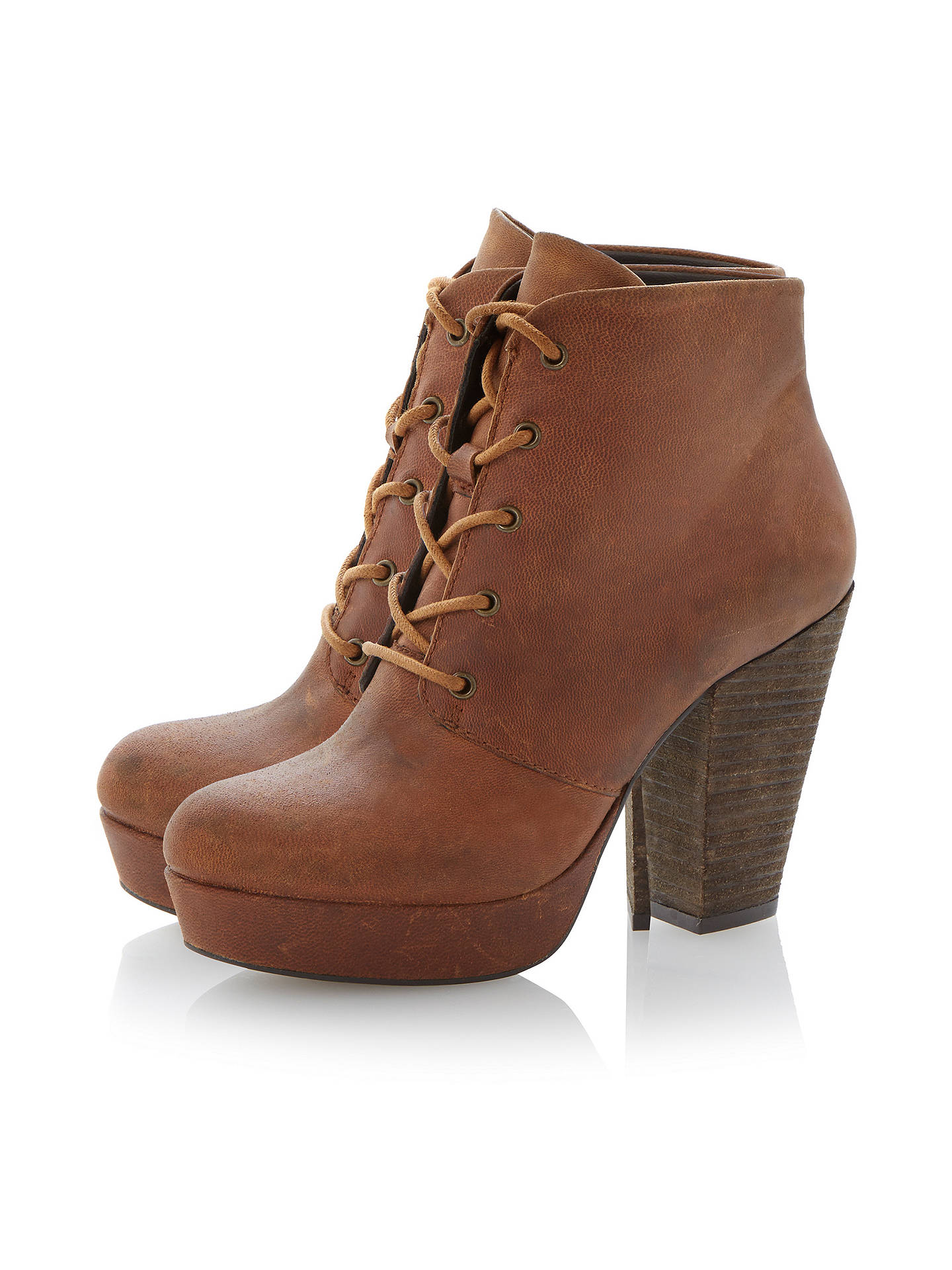 cac6605706a Buy Steve Madden Raspy Platform Leather Ankle Boots