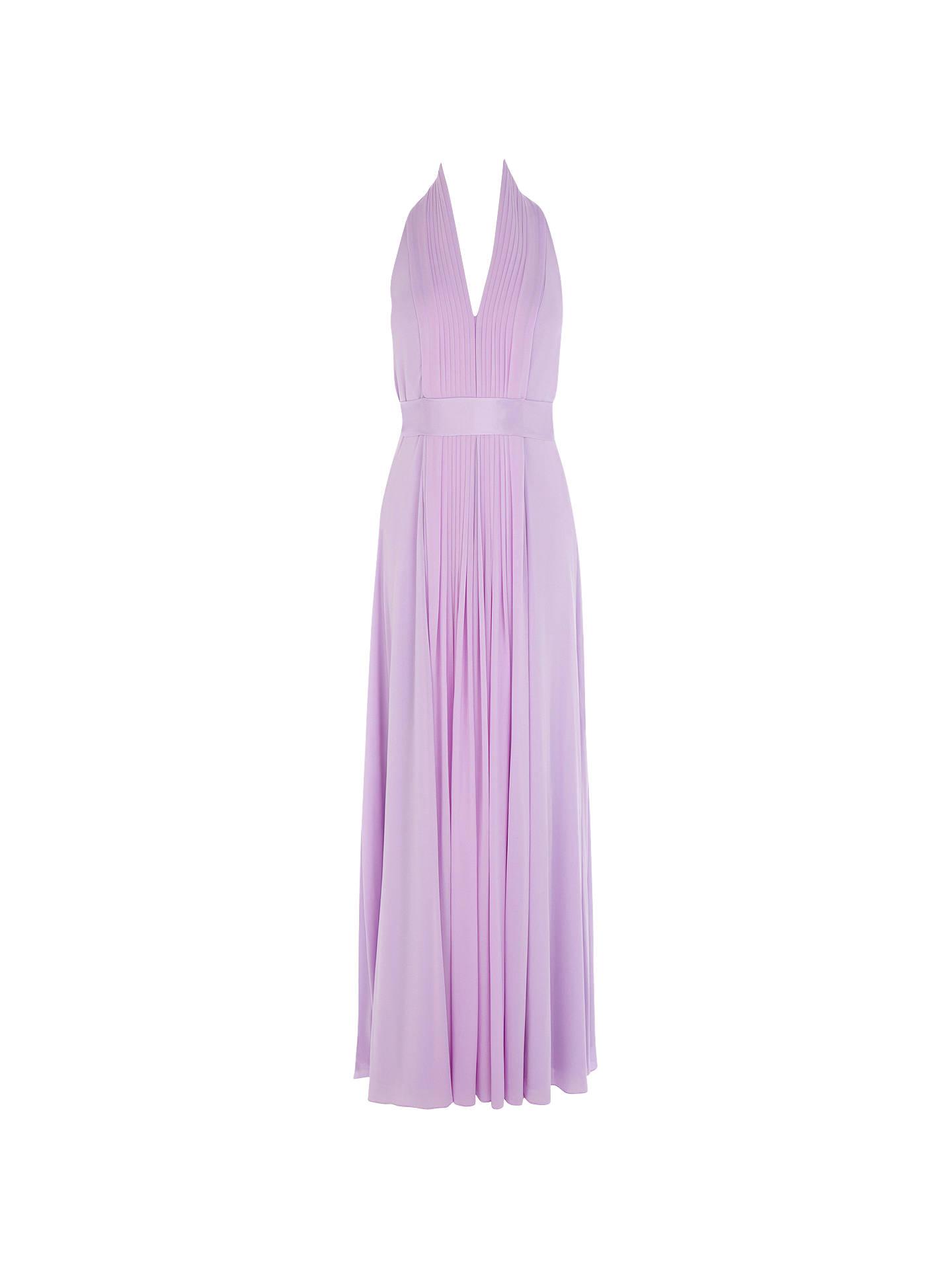 Buy Coast Petite Goddess Maxi Dress Lilac 6 Online At Johnlewis Com