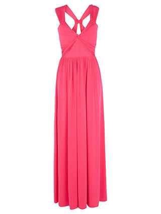 Buy Coast Branda Maxi Dress, Pink, 6 Online at johnlewis.com