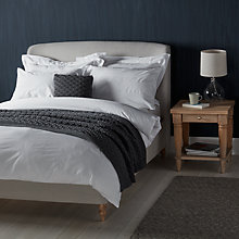 Buy John Lewis Croft Collection Pima Seersucker Stripe Cotton Bedding Online at johnlewis.com