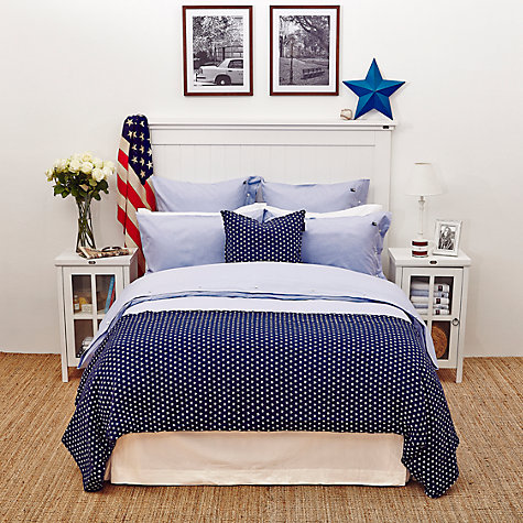 Buy Lexington Icons American Authentic Pin Point Cotton Bedding Online at johnlewis.com