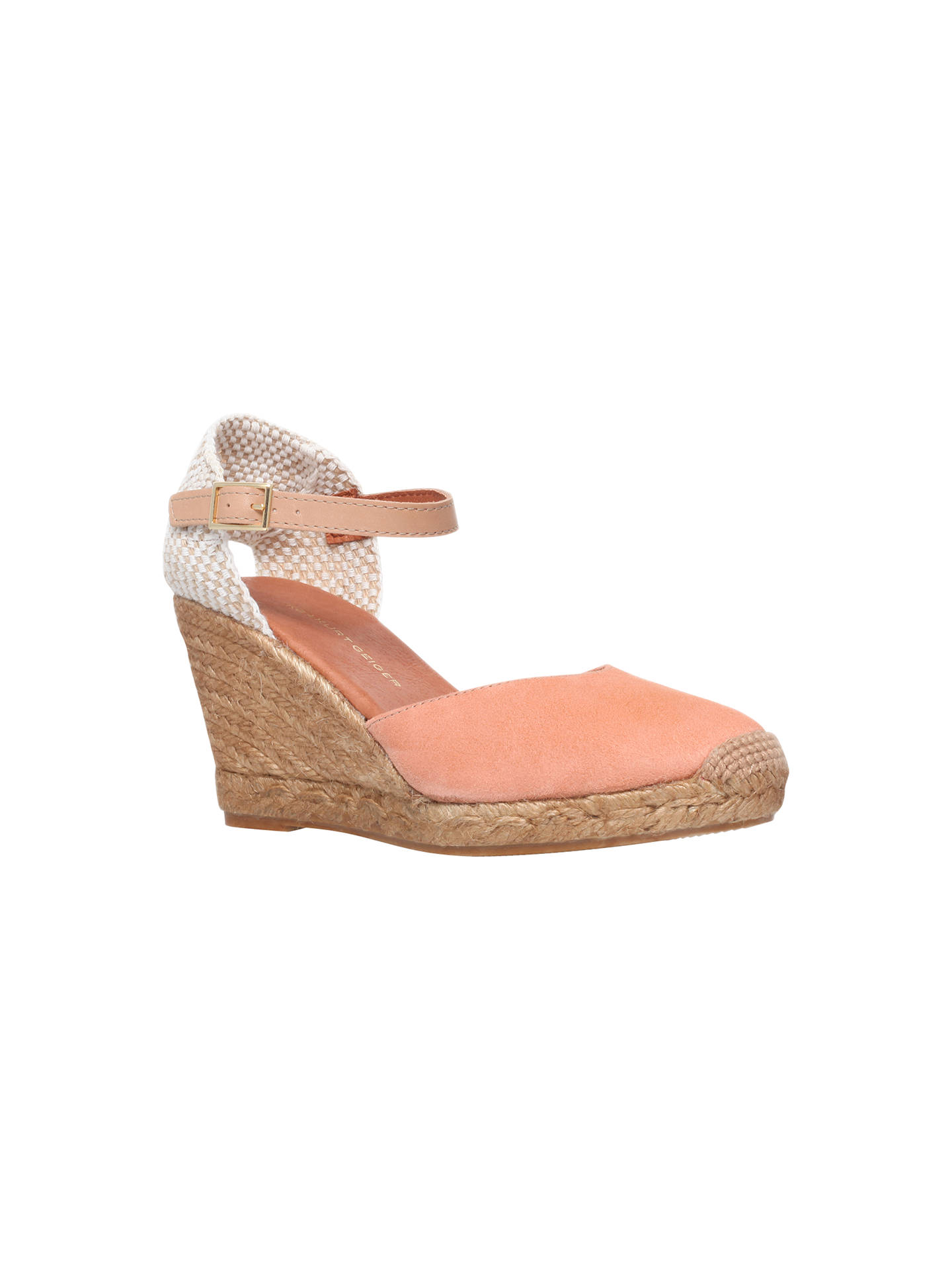 2fcfe56d5df KG by Kurt Geiger Monty Wedge Heel Espadrilles at John Lewis & Partners